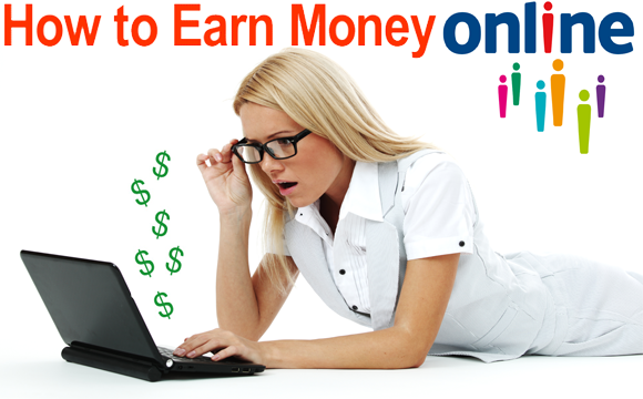 Hot to make money online