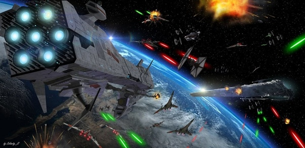 Image result for images of battles in space