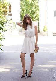 What heels do you wear with a white dress? - Quora