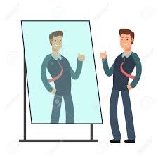 If someone looked at me through a mirror, would they see me the same way I  see myself in a mirror? - Quora