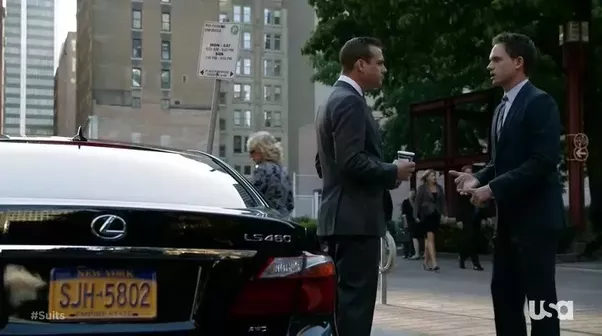What Car Does Harvey Specter Use Quora