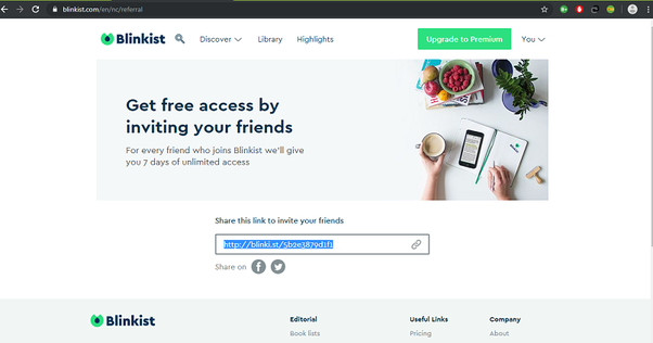 How to get Blinkist for free - Quora