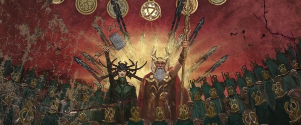 Was Hela present with Odin during the war with Laufey in Jotunheim? - Quora