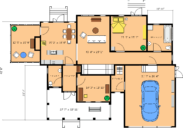 What Is The Best Software To Create Floor Plans I Mean To Create
