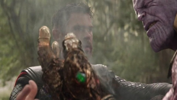 Can Thanos use the Time Stone to reverse the damage of his Gauntlet
