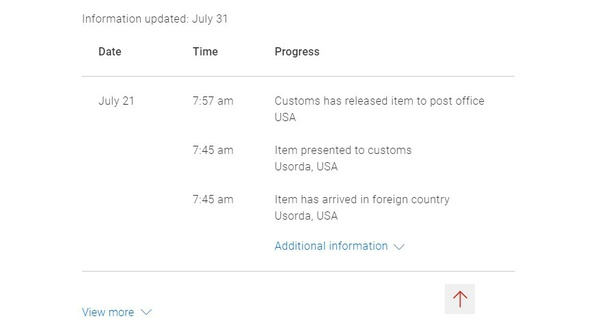 A Package Was Released From Chicago Customs On 7 21 But No More Info And It Is Now 7 30 When Should I Start Getting Worried Quora