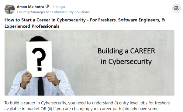 How To Get A Job In Cyber Security Quora