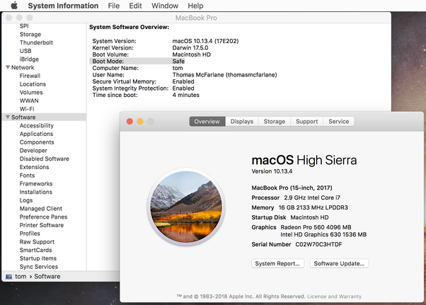 How to tell if my Macintosh is in safe mode - Quora