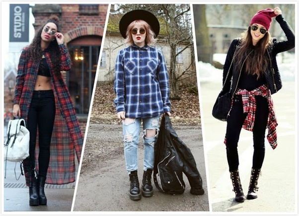 What clothes should I wear to create a grunge style? - Quora