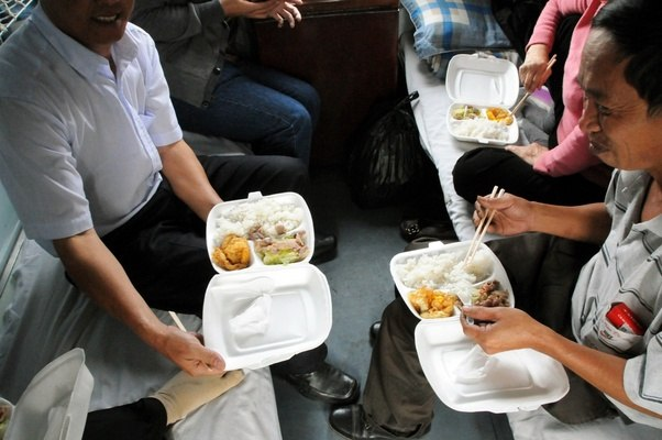 Image result for food in train