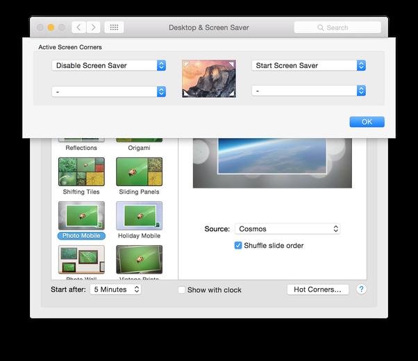 How To Screenshot My Screensaver On Os X Yosemite Quora