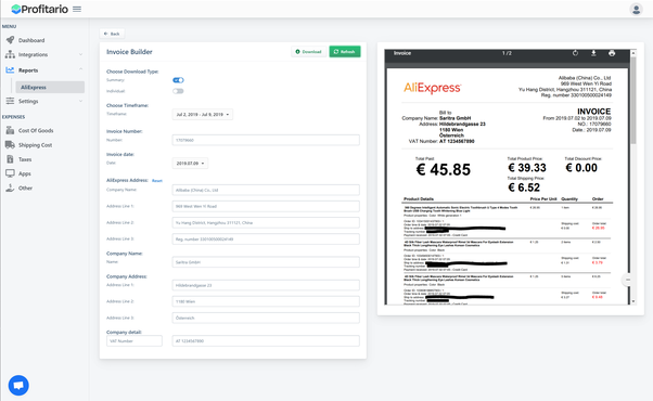 How To Download An Invoice From Aliexpress For Free Quora