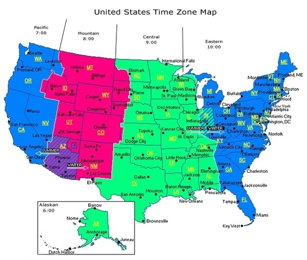 Are timezone lines straight or following country boundaries? - Quora