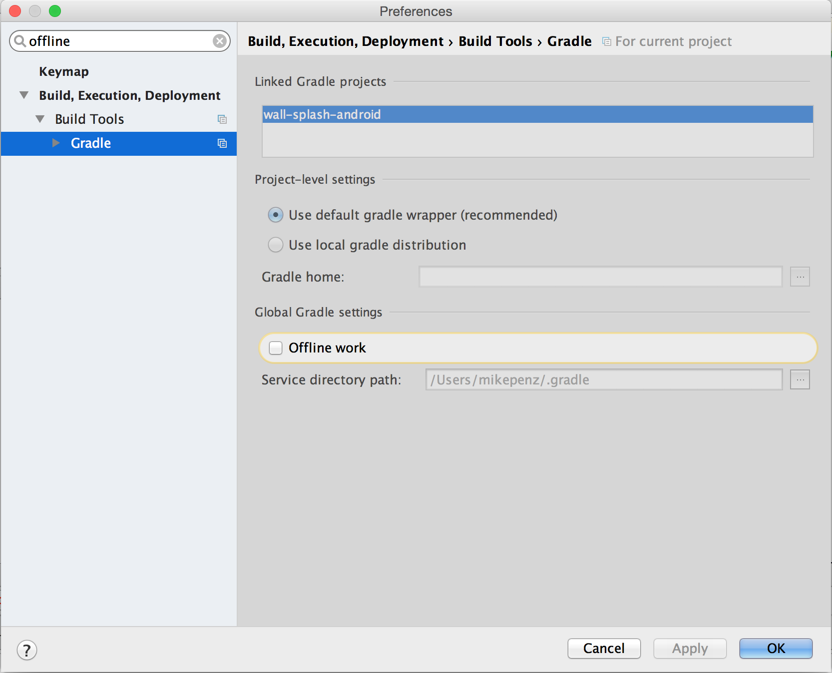 How to import Android Studio projects from one computer to