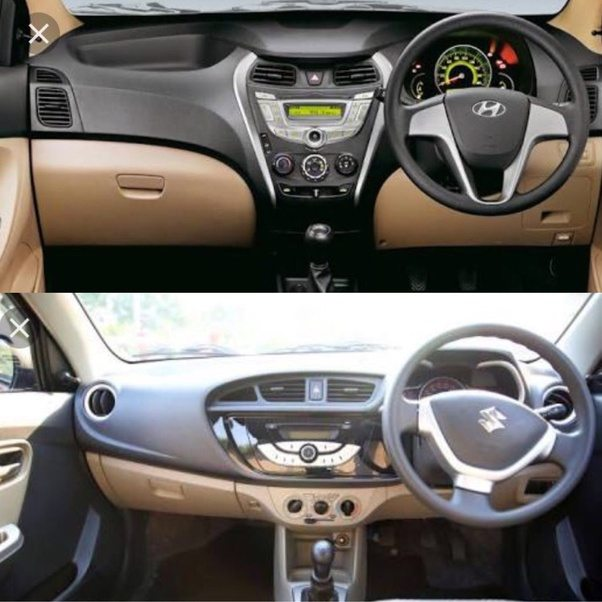 What is the major difference between Maruti Suzuki and Hyundai cars ...