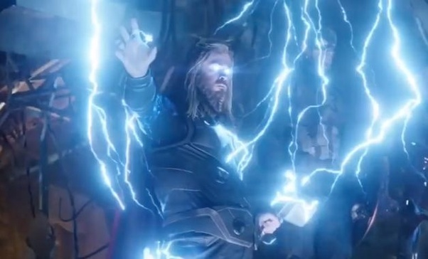 Was The Beard And Hair Of Fat Thor In The Movie Avengers