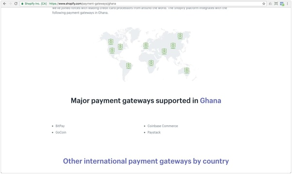 Can I start a Shopify store from Nigeria or Ghana and how do