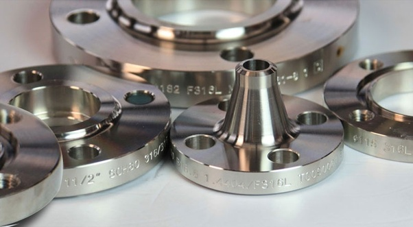 How to calculate per unit cost of flange manufacturing from