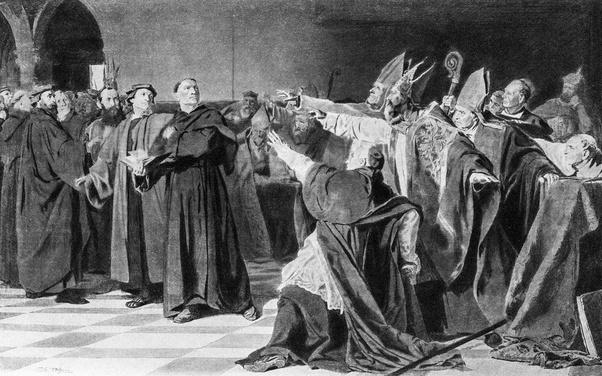 Excomunión de Lutero