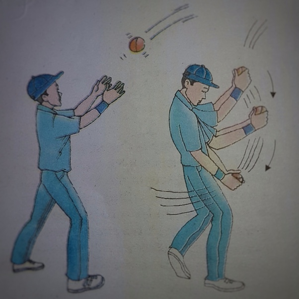 Why Does A Cricket Player Move His Hand Backwards While