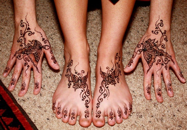 Henna Tattoo How Long Does It Last : How to make my henna tattoos last longer quora