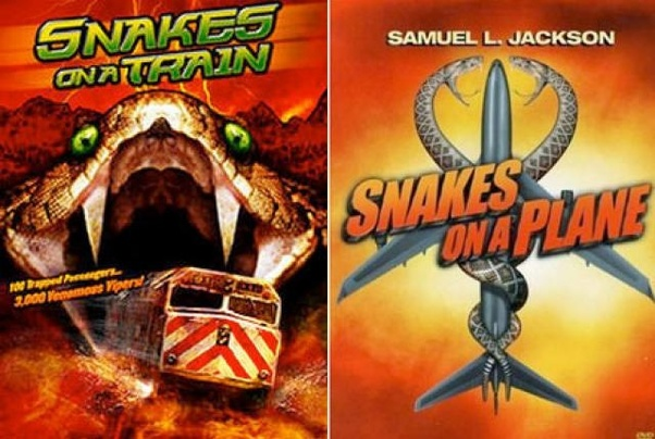 Snakes On A Train Movie