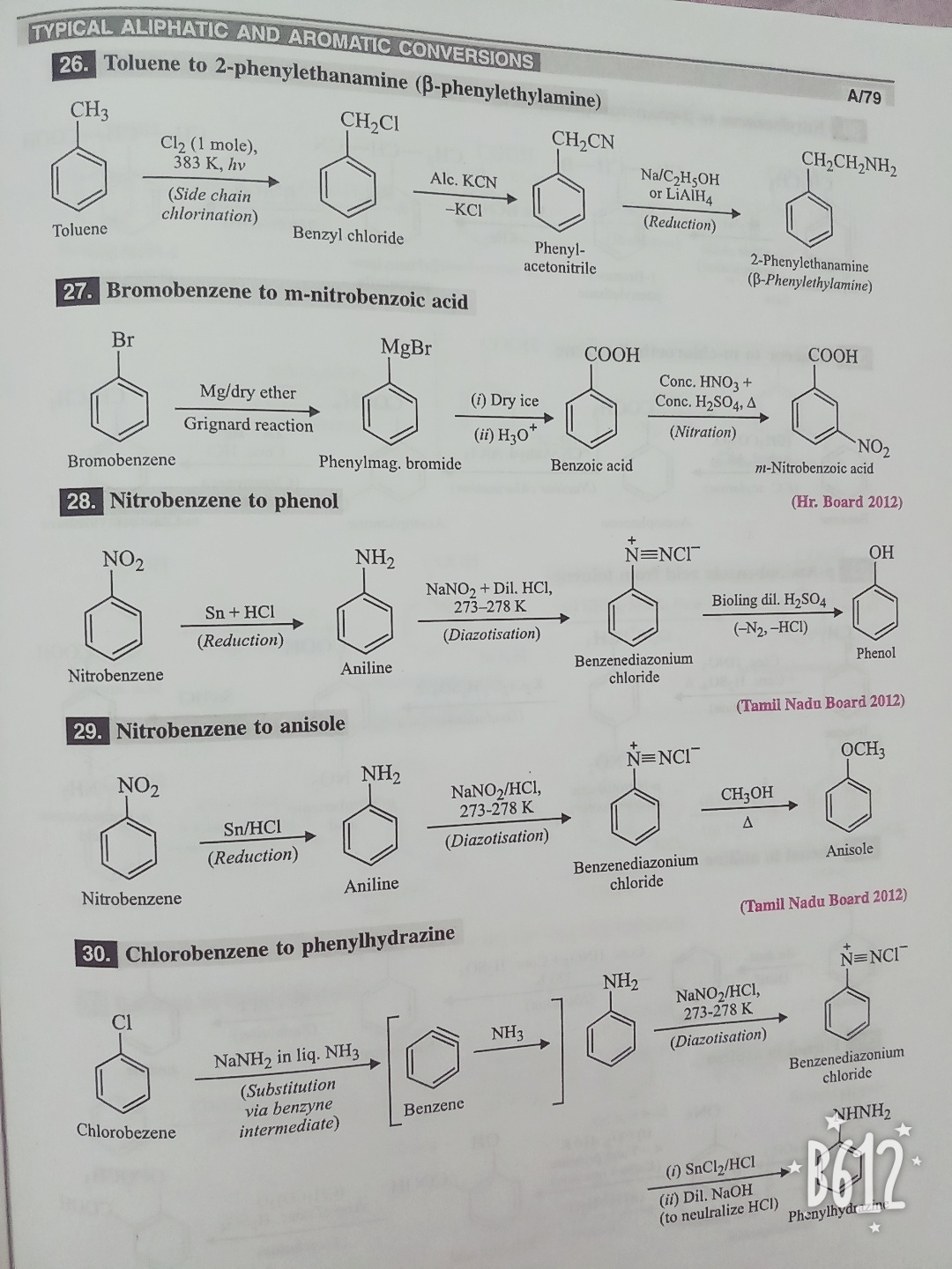 Is there any way in which I can study organic chemistry effectively