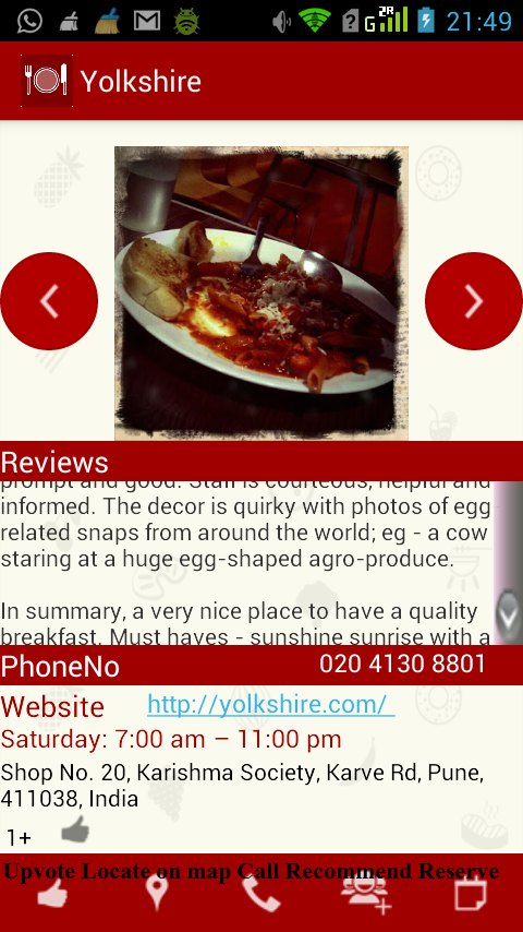 What is a suggestion of a food app which tells us where to go out to try goodfood android apps on google play its one of the most complete and best apps i have come across forumfinder Image collections