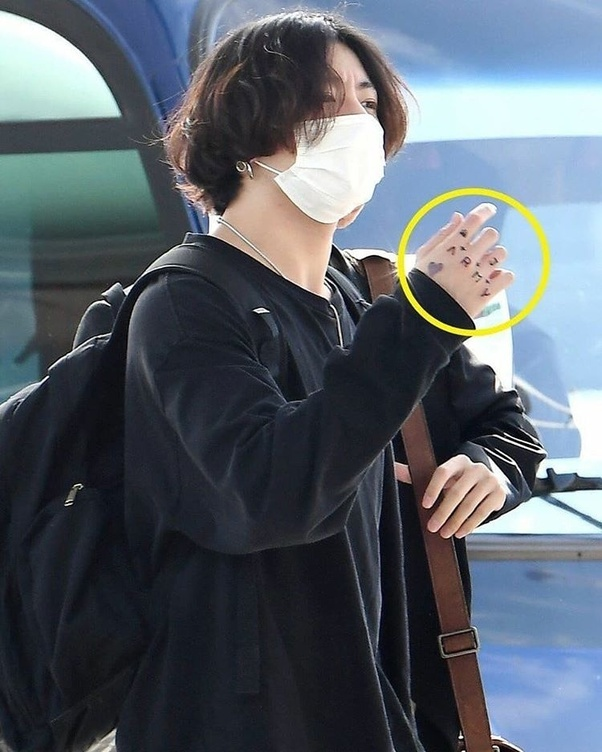Did Bts Jungkook Tattoo His Hand What Does It Say And Mean Quora