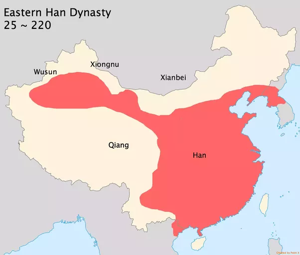 How did china become enormous quora han dynasty lasted for about 400 years and finally collapsed in 220 its territory split into three parts and many frontier zones were occupied by sciox Gallery