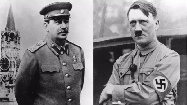stalin and hitler relationship