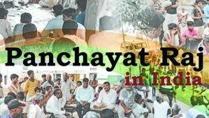 about panchayati raj
