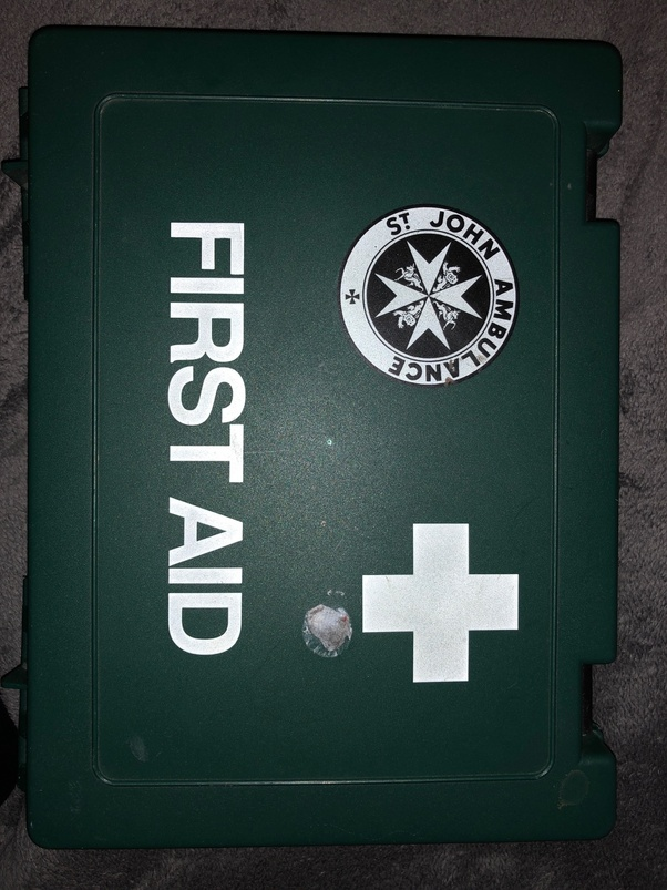 Which Is More Appropriate For A First Aid Kit The Red Cross With A