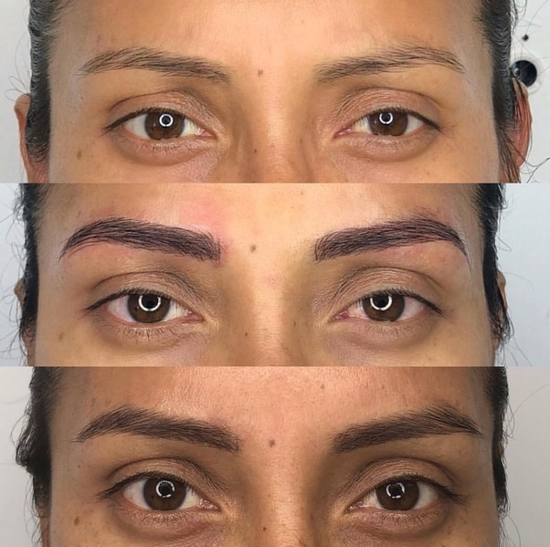 Should I Do A Dry Heal For Microbladed Eyebrows Quora
