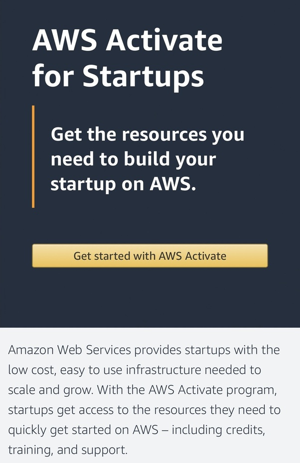 How to leverage AWS to start a startup - Quora