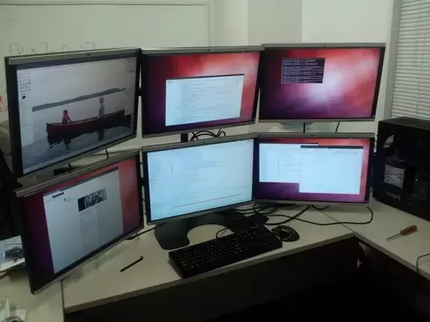 Why Do Programmers Prefer Two Large Monitors Quora