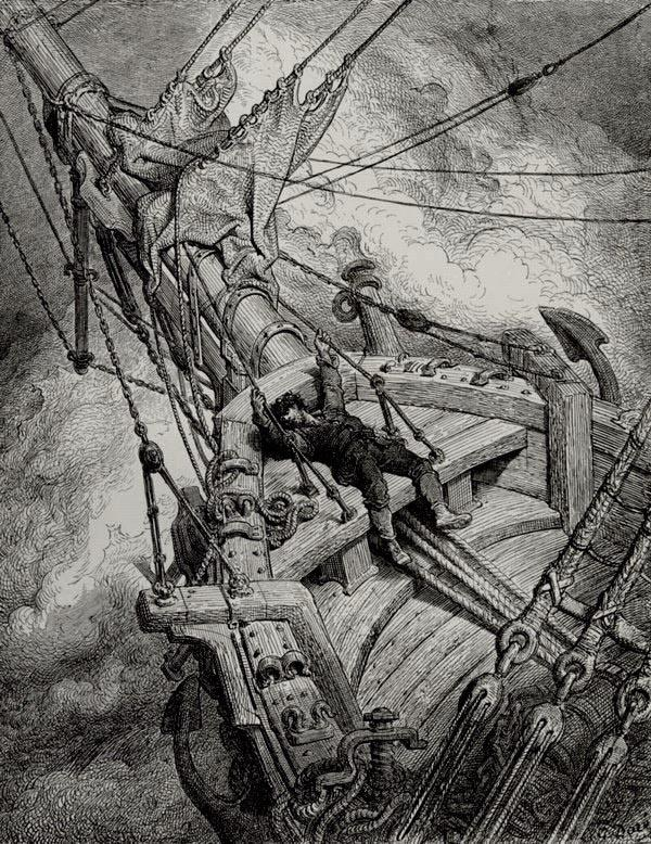 Why Did The Ancient Mariner Shoot The Albatross Quora