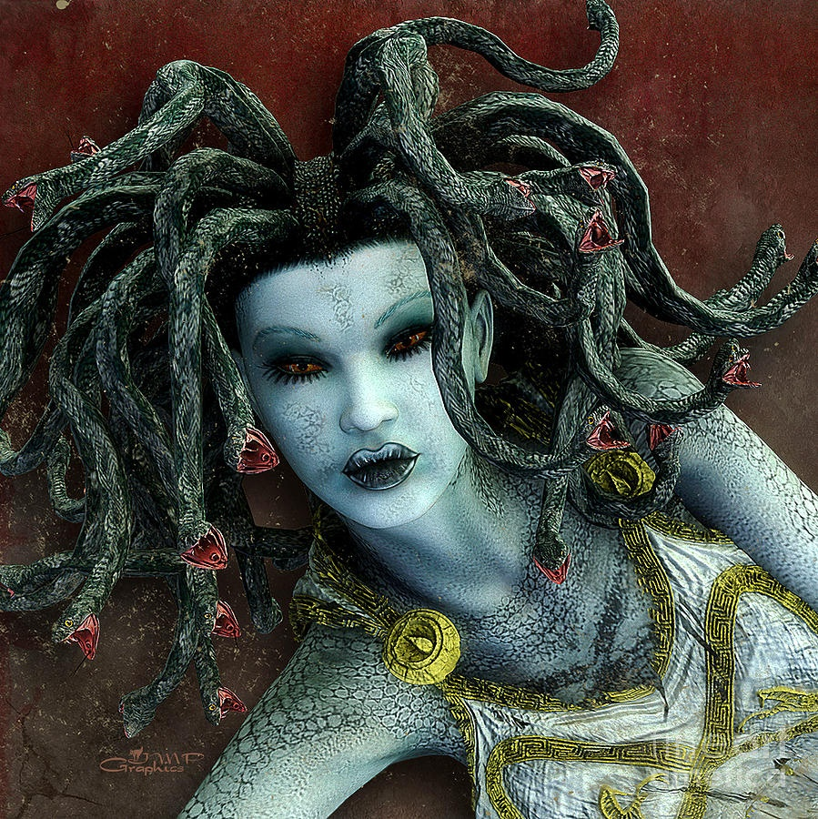 How old was Medusa when she was cursed by Athena? - Quora
