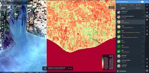 What is NDVI Landsat? - Quora