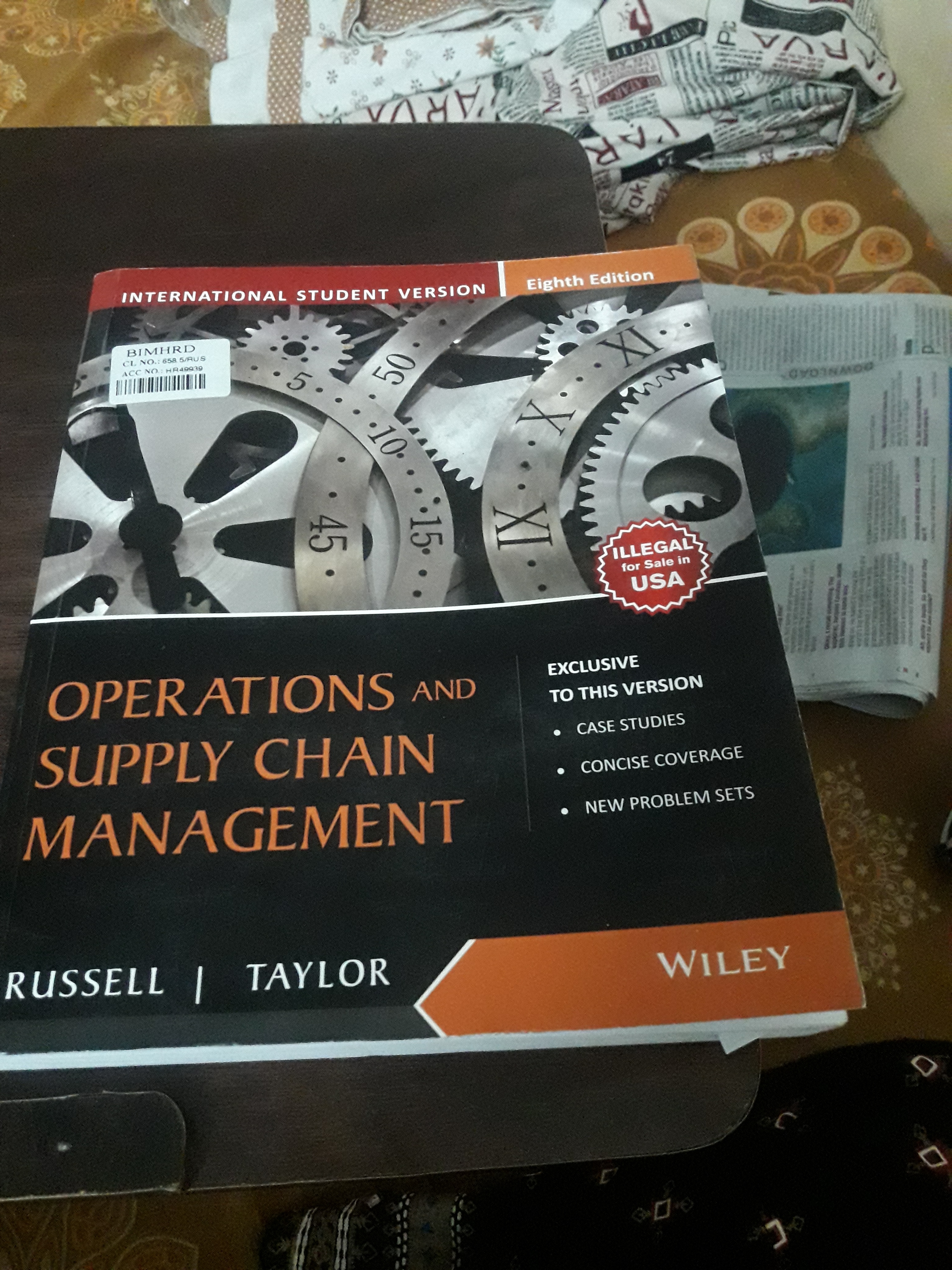 What is the best book for beginners like me to learn operations and supply  chain  82150ebd7d