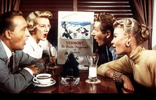 and white christmas because its the ultimate 1950s hollywood christmas musical cheesy unbelievable and totally a guilty pleasure terrific cast - White Christmas Movie Cast