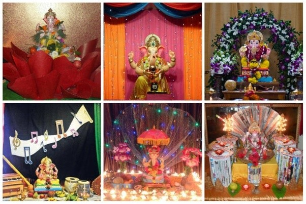 More Check : Top 10 Ganapati Decoration Ideas At Home | Ganesh 2017 | Mango  News