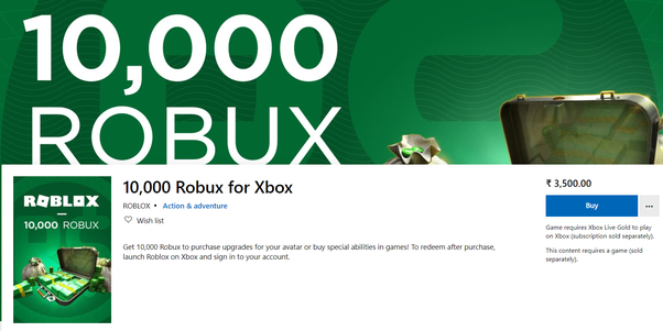 How To Buy Robux On Xbox One How To Buy Robux In India Quora