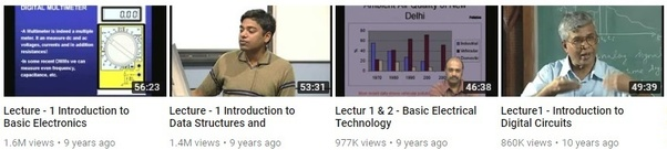 What are the best YouTube channels for learning engineering