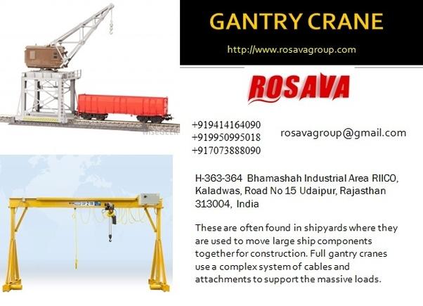 What is a gantry crane? - Quora
