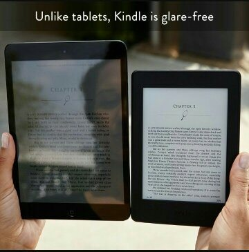 Kindle paper book