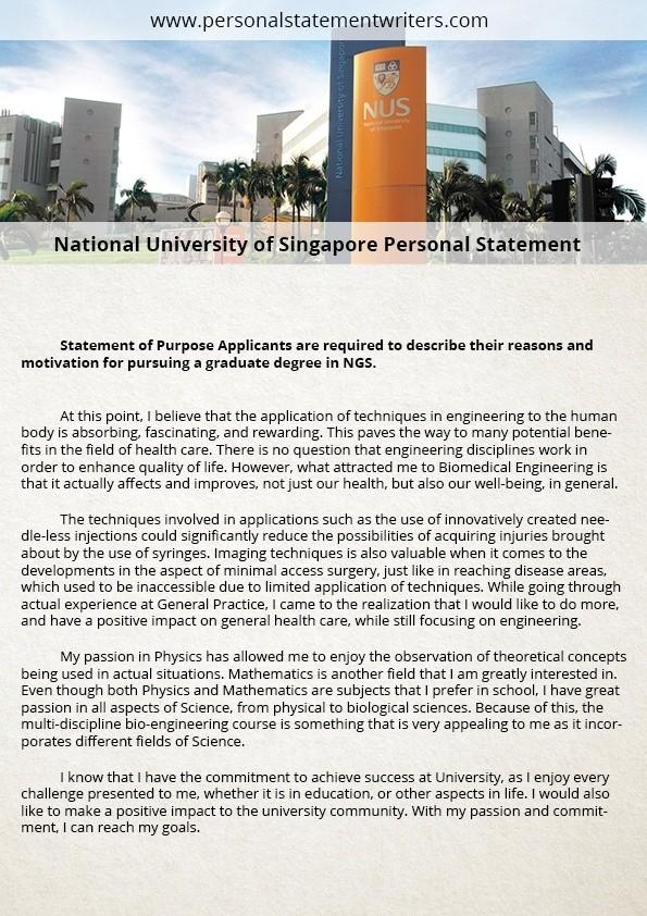 NUS MBA Essay