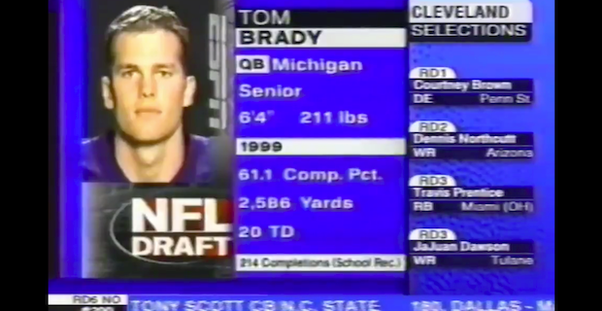 What year was Tom Brady drafted? - Quora