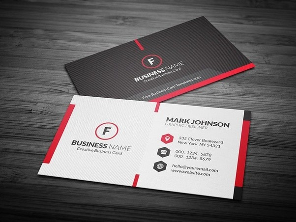 With Only One Font Family You Can Have A Clear Sharp Easily Read Card It Still Looks Attractive And Professional Find Many Designs Centered On