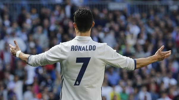 sale retailer 96b33 001fa Why does Cristiano Ronaldo wear the number 7 jersey on every ...